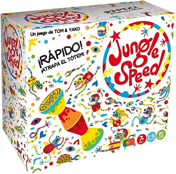 Asmodee Jungle Speed Skawk - Español, Edición 2019 (JSSKWA02ES) , color/modelo surtido: Amazon.es: Juguetes y juegos