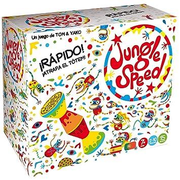 Asmodee Jungle Speed Skawk - Español, Edición 2019 (JSSKWA02ES)