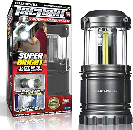 Pro COB LED Light  Adventurer Camping Mechanics Torch Lantern With Magnetic Base