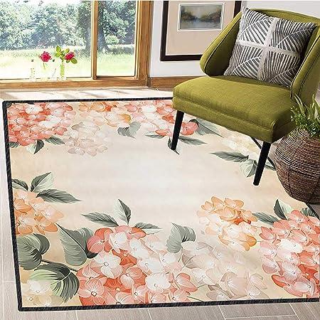 Tapete para Debajo de la Mesa, diseño de Flores y Hojas, Inspirado ...