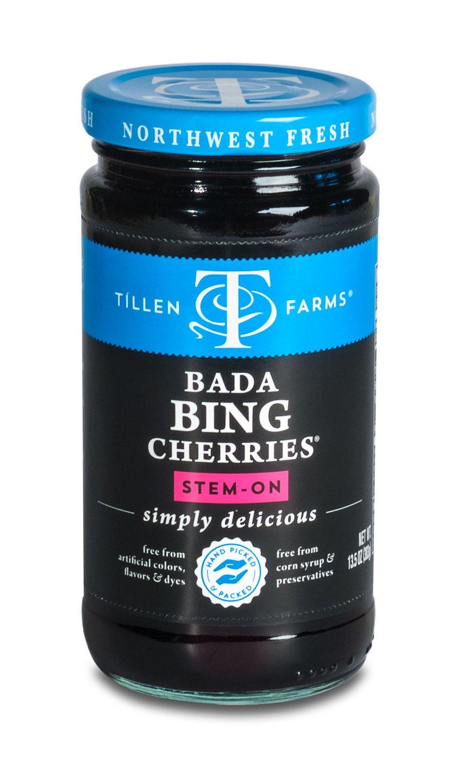 Tillen Farms Cherries, Bada Bings, 13.5 Ounce (Pack of 4)