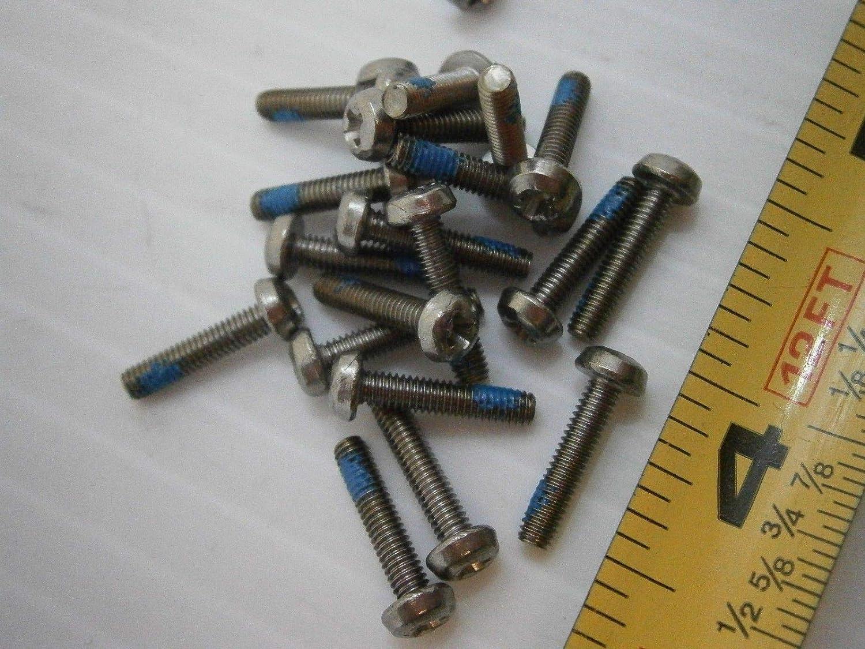 4mm M4 Phillips Cabeza Plana Tornillos de máquina pernos A2 Acero Inoxidable DIN 7985 H