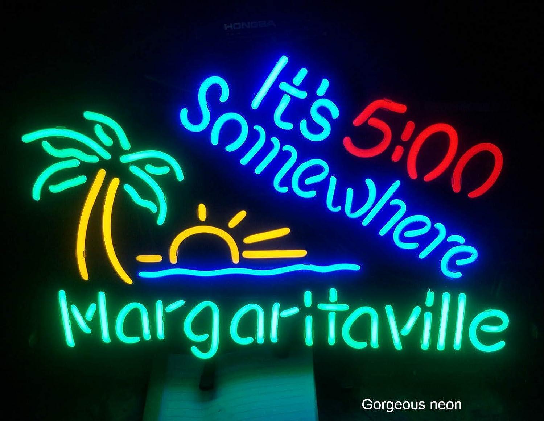 Gorgeous neon ネオンサイン―お酒お店 ネオン看板装飾用ガラスネオンサイン。バー、クラブ、レストラン、カフェー、スナック、車庫などいろいろなシーンで壁面装飾としてお使い頂けます。 (4)   B07CYXF5SS