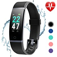 LETSCOM Fitness Tracker Watch with Heart Rate Monitor