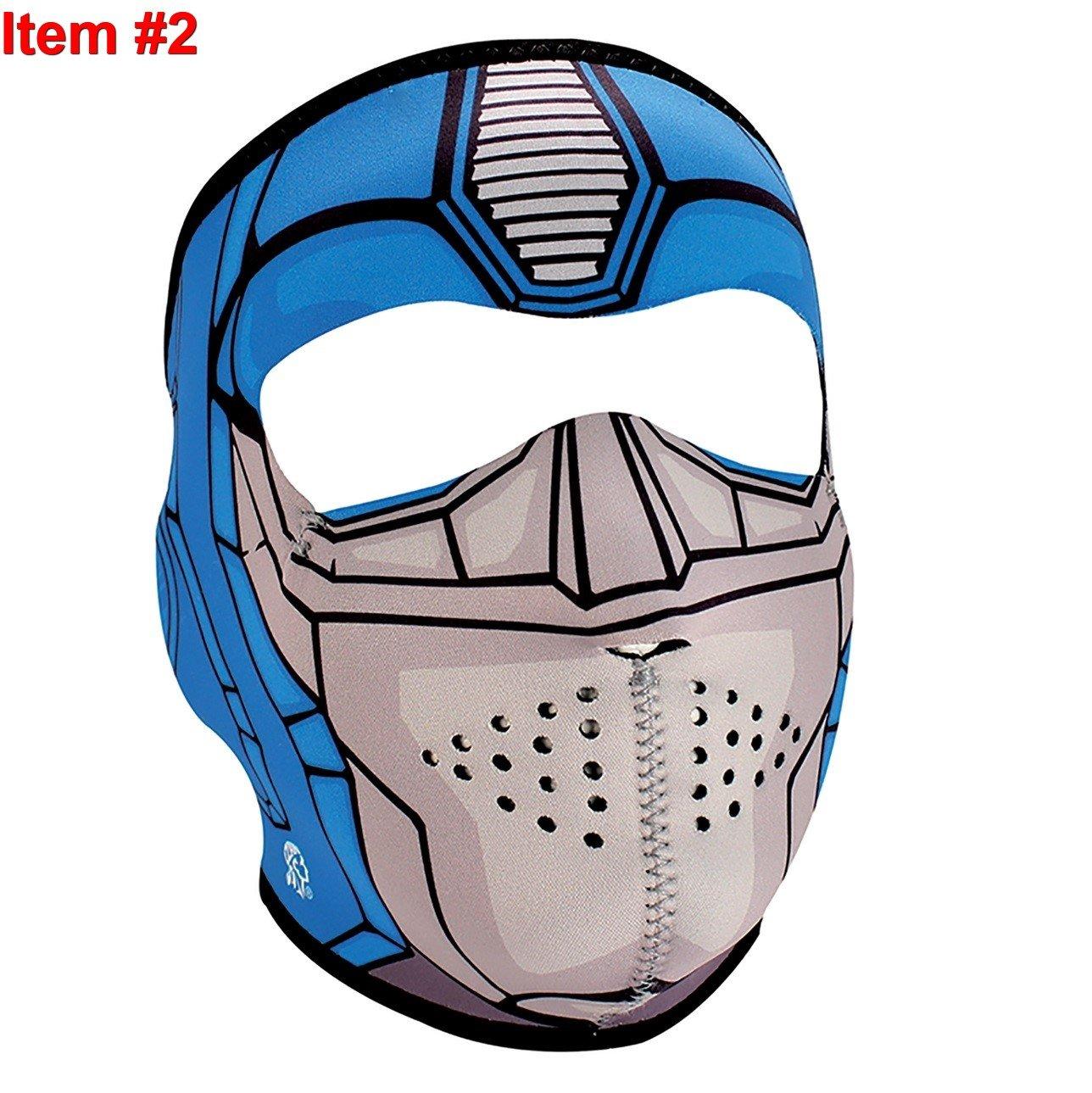 ... bala de plata Fanged hombre lobo de cara completa máscaras de neopreno - and- 1 Zan, niño/niño de tamaño, Guardian neopreno Full Face cara máscaras, ...