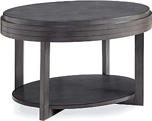 Leick Home Coffee Table, Smoke Gray