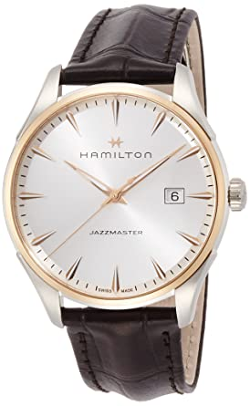 sports shoes dfa3c 51742 [ハミルトン]HAMILTON 腕時計 ジャズマスター ジェント H32441551 メンズ 【正規輸入品】