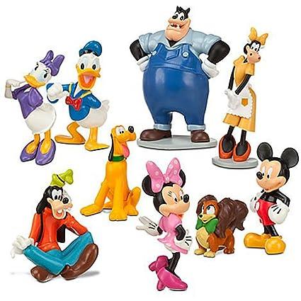 e56f4fb2f44 Amazon.com  Disney Mickey Mouse Clubhouse Figurine Deluxe Figure Set  Toys    Games