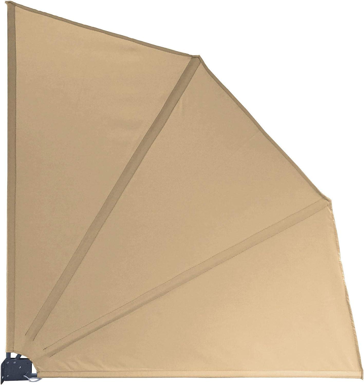 Amazon De Quick Star Sichtschutz Facher Premium 140x140cm Mit