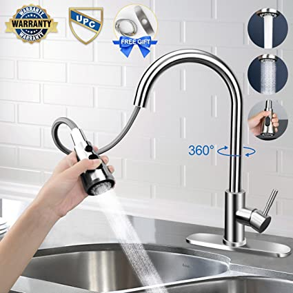 Kitchen Faucet Kitchen Faucets With Pull Down Sprayer Free Gift For