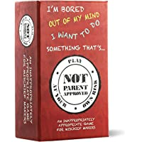 Not Parent Approved: A Fun Card Game for Kids, Tweens, Teens, Families and Mischief Makers - The Original, Hilarious…