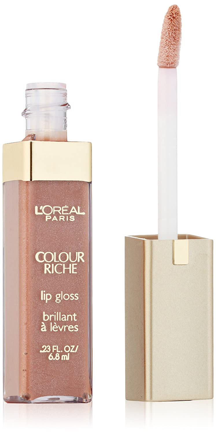 L'Oréal Paris Colour Riche Lip Gloss, Soft Nude, 0.23 fl. oz.