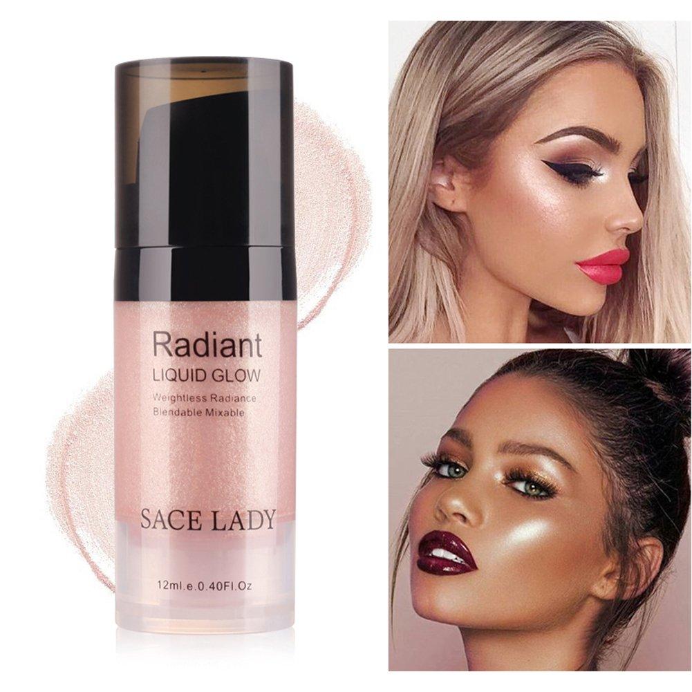 IMAGIC Highlighter Powder Palette Shimmer Face Contouring