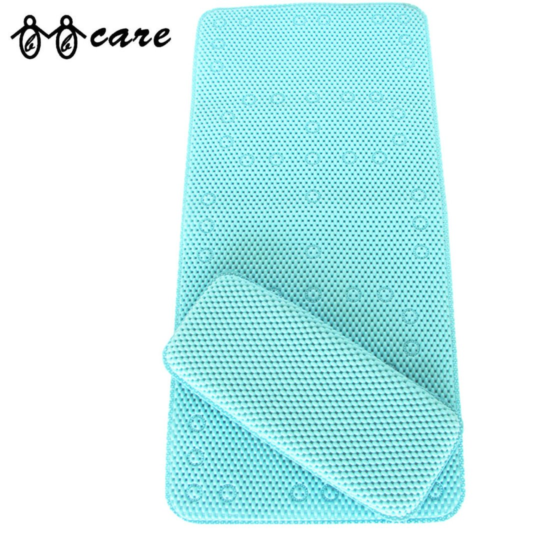 Amazon.com: BBCare® Non-slip&Extra Large Bath Mat with Soft Kneeler ...