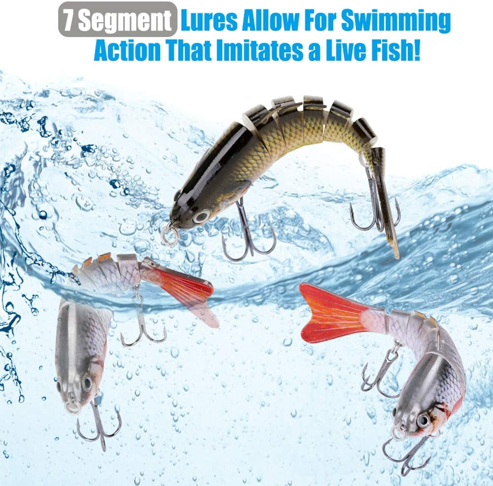 5pcs 90mm//5g T Tail Soft Fishing Lures 3D Eyes Groove Back Artificial Baits HY#U