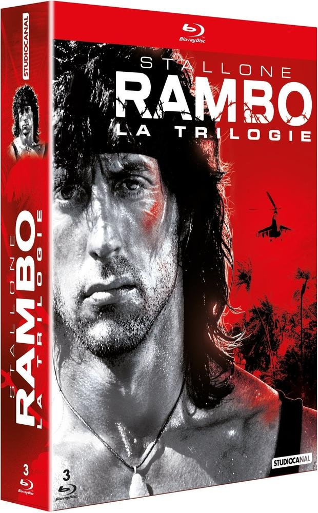 Rambo - Trilogie [Francia] [Blu-ray]: Amazon.es: Sylvester Stallone, Richard Crenna, Martin Kove, Marc de Jonge, Kurtwood Smith, Spiros Focas, Sasson Gabai, Brian Dennehy, David Caruso, Jack Starrett, Bill McKinney, Michael Talbott, Charles