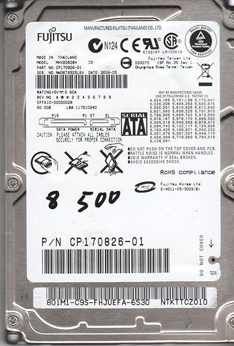 Fujitsu MHVBH SATA Driver