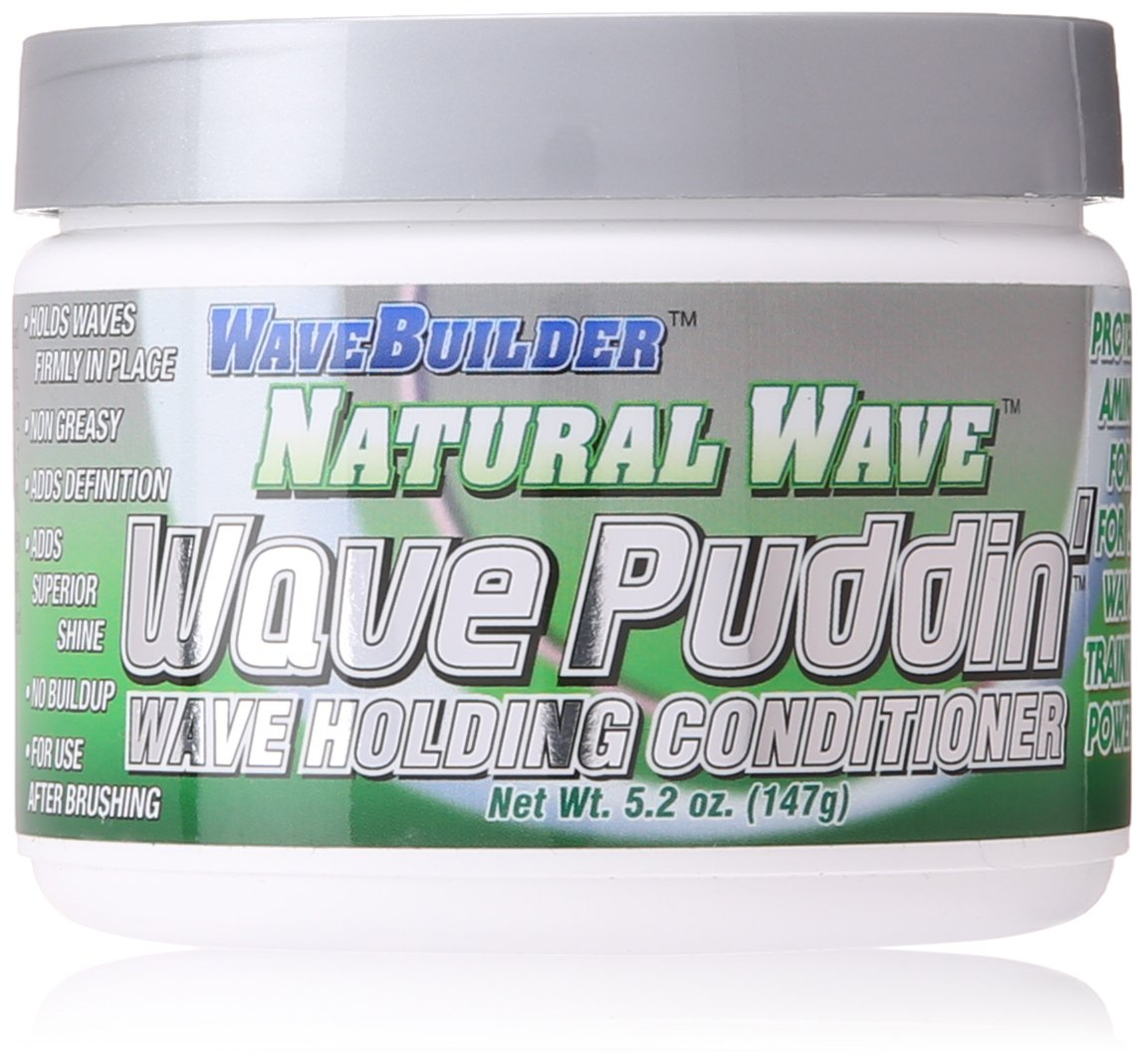 Wave Builder Natural Wave Pudding Holding Conditioner, 5 Ounce
