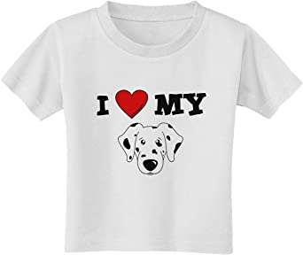 TooLoud I Heart My Dachshund Toddler T-Shirt