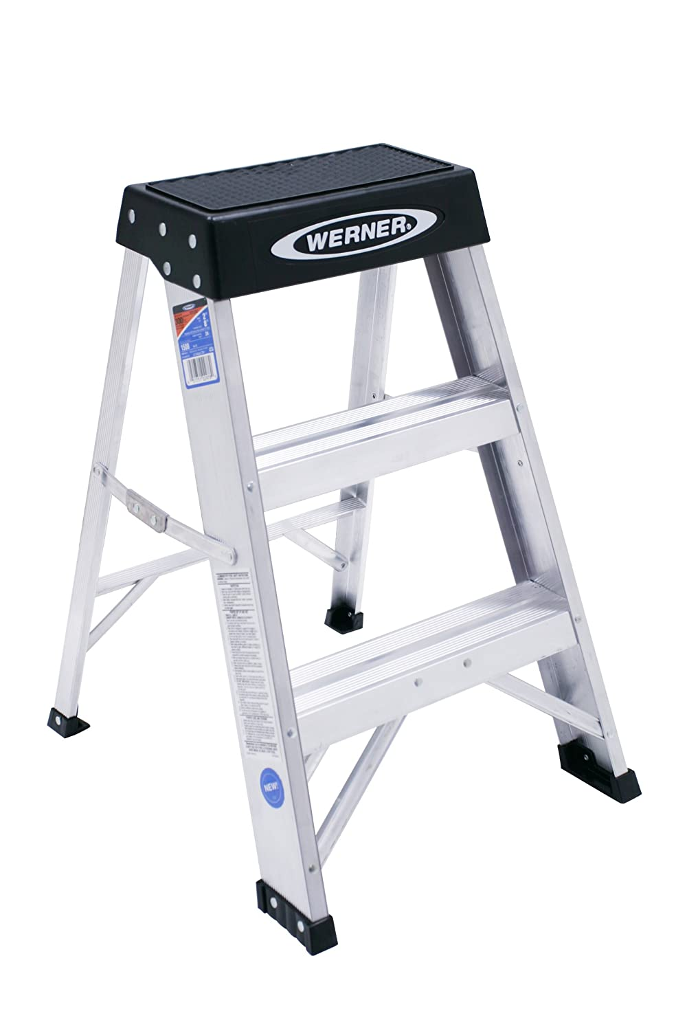 Amazon.com Werner 150B 300-Pound Duty Rating Aluminum Step Stool 2-Foot Home Improvement  sc 1 st  Amazon.com & Amazon.com: Werner 150B 300-Pound Duty Rating Aluminum Step Stool ... islam-shia.org