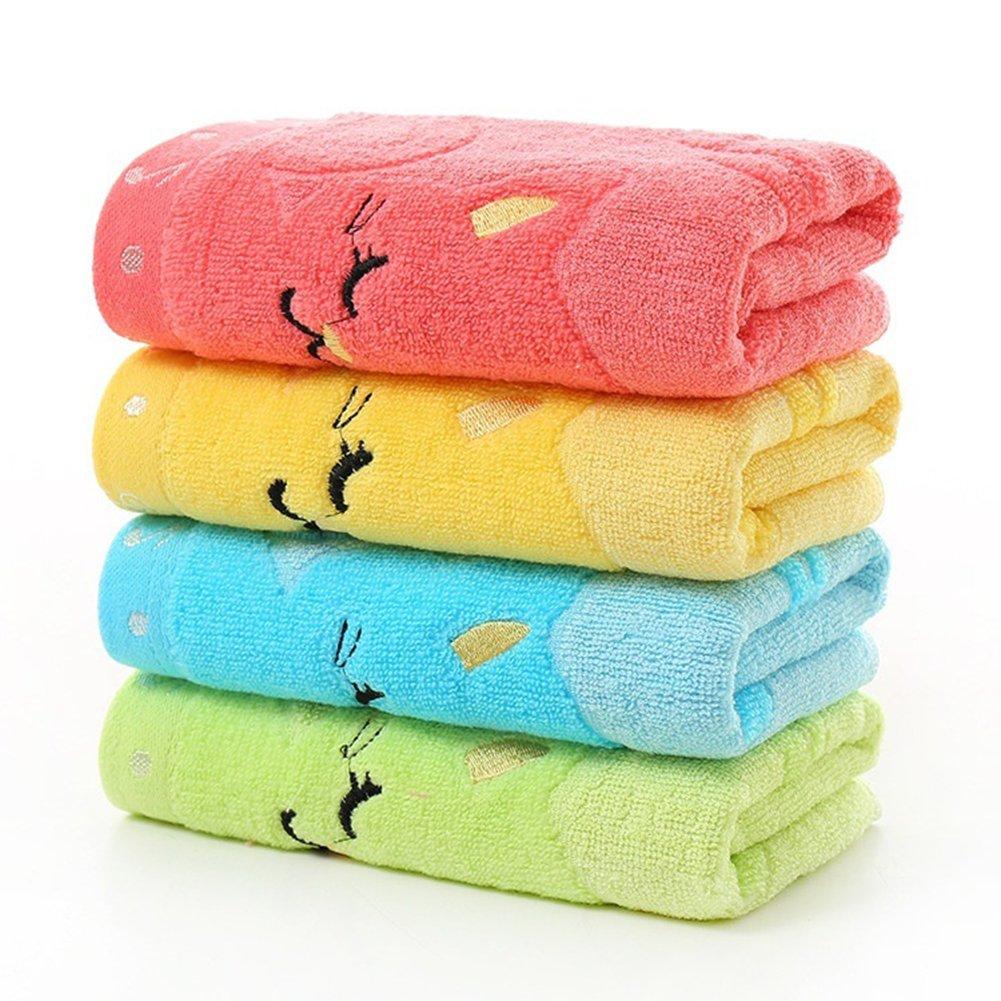 toallas para la cara del beb/é algod/ón toalla de ducha Bruselas08 Toallas de ba/ño para beb/é Amarillo toallas de ba/ño algod/ón Medium