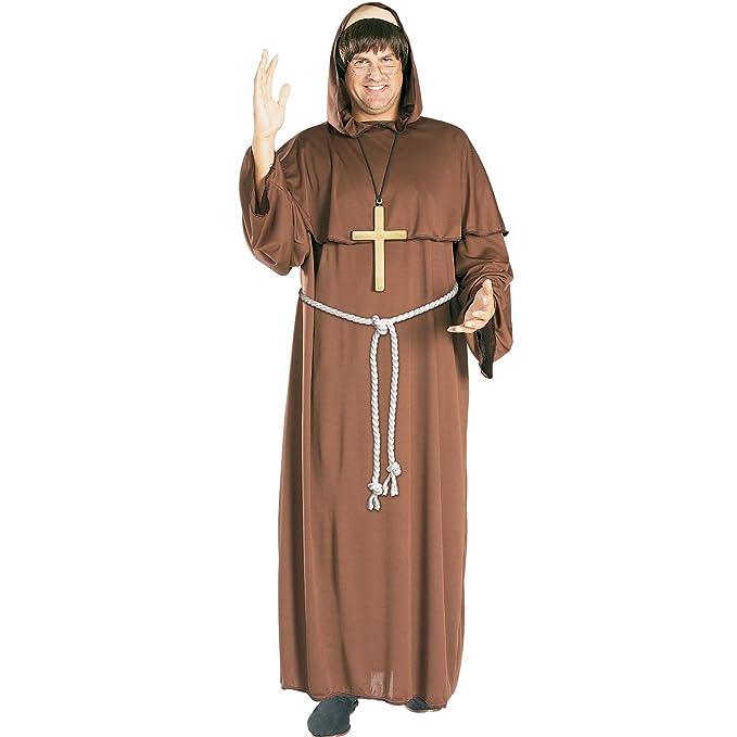 Rubies - Disfraz de monje fray Tuck para adulto (talla XL): Amazon.es: Juguetes y juegos