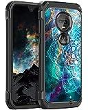 BENTOBEN Moto G7 Case, Moto G7 Plus Case, Hybrid Slim Shockproof 2 in 1 Glow in The Dark Protective Phone Cover for…