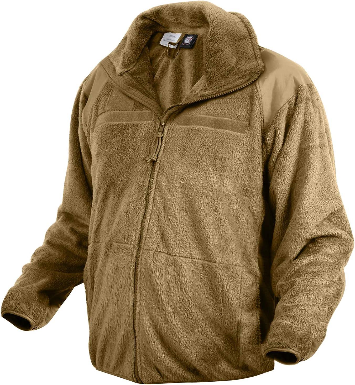 Rothco Generation III Level 3 ECWCS Fleece Jacket: Powersports Protective Jackets: Clothing