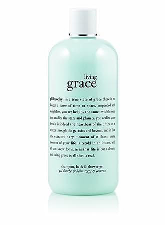 Philosophy Living Grace Shampoo Shower Gel And Bubble Bath 16 Ounce