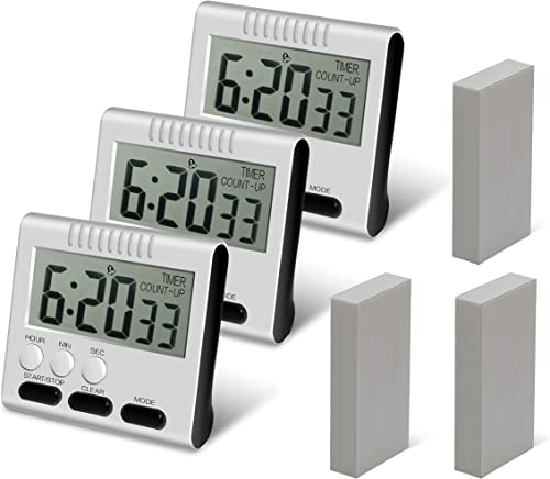 Hour Minute Second Count Up Countdown Digital Kitchen Timer