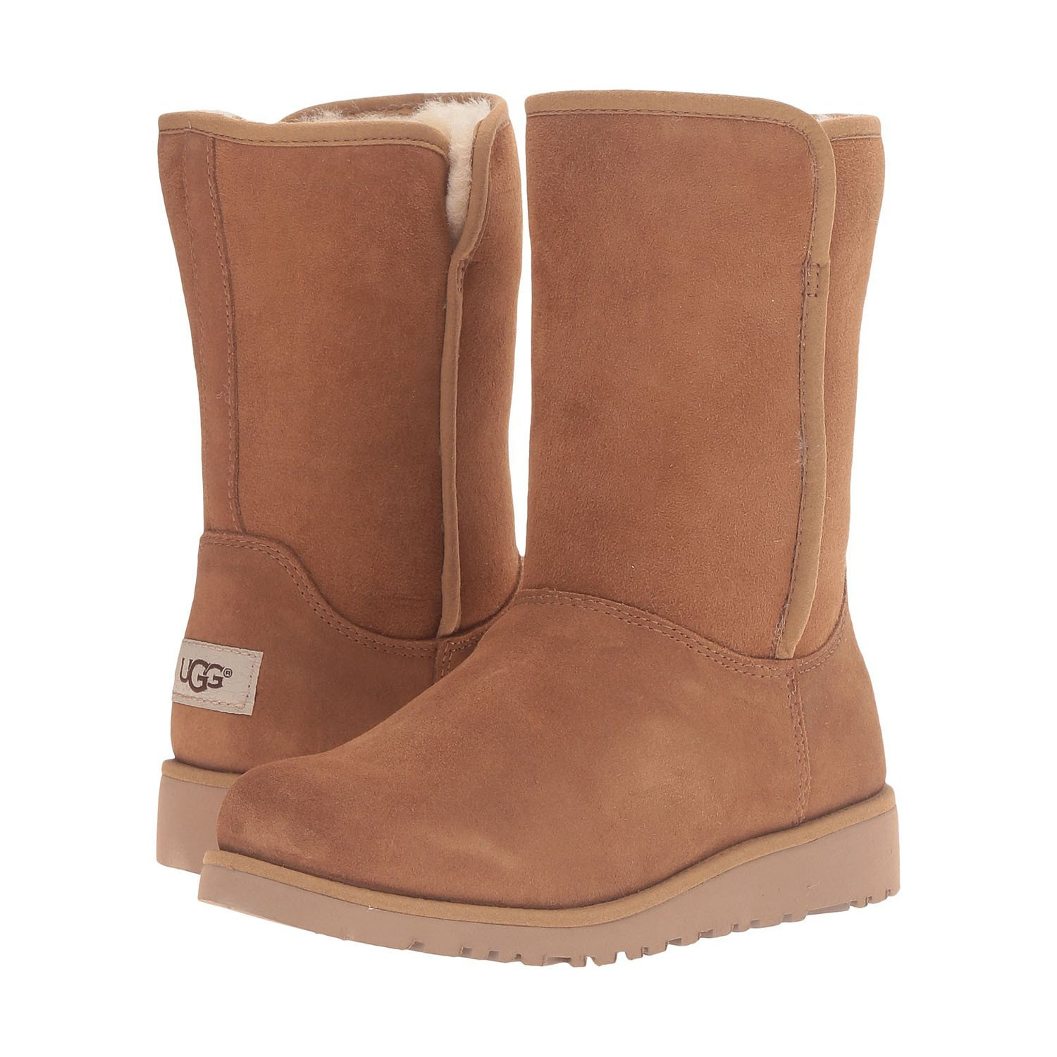 UGG Girls' Alexey (Little Big Kid), Chestnut, 3 M
