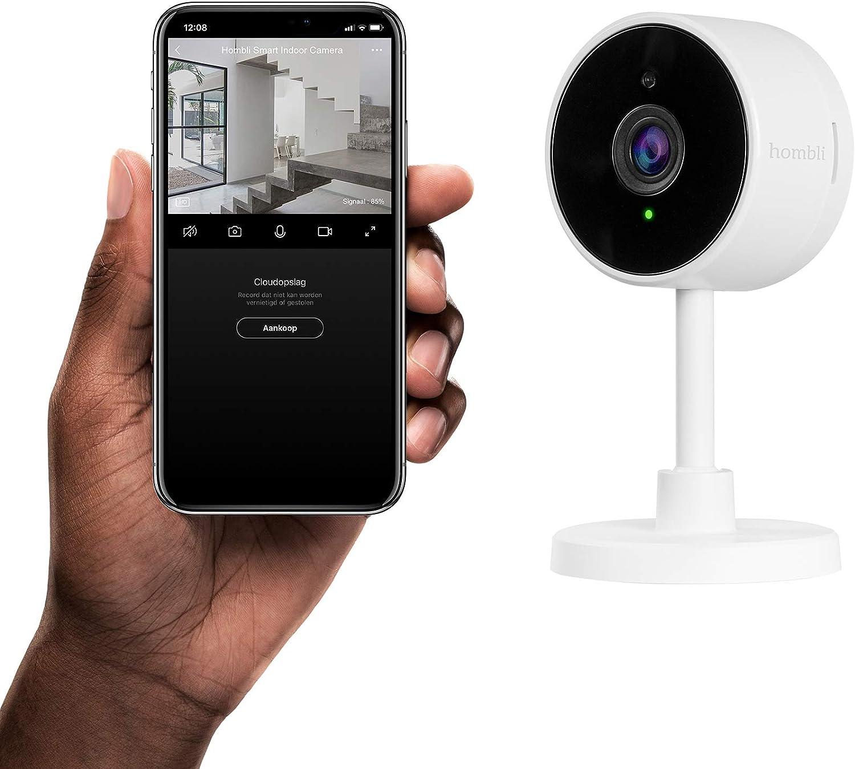 Weiß HOMBLI HBCI-0309 Indoor Kamera Full-Hd 1080 p Auflösung Video