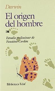 El Origen Del Hombre Ensayo Panamericana Editorial: Amazon.es: Darwin, Charles: Libros