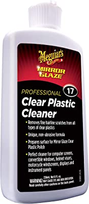 Meguiar's Mirror Glaze Clear Plastic Cleaner