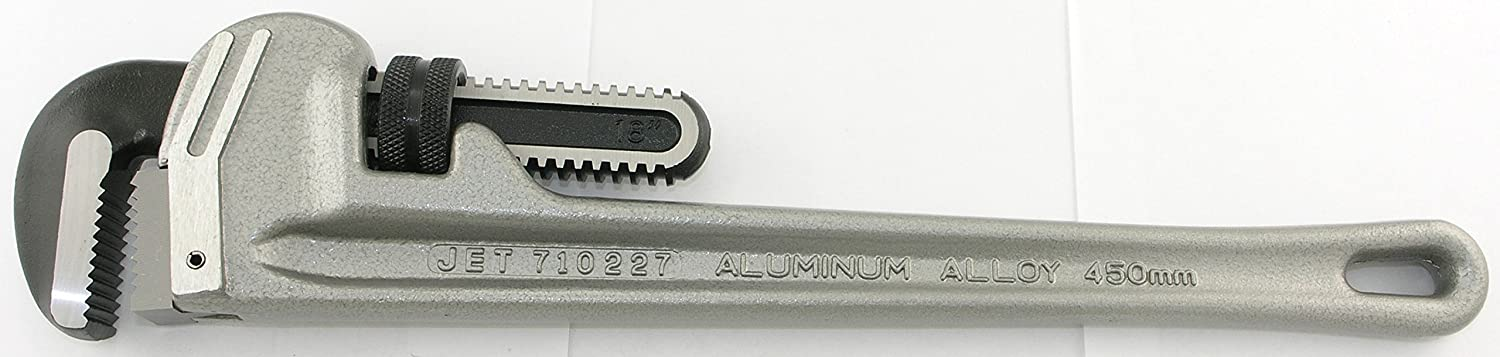 Jet 710230-24 Aluminum Pipe Wrench-Super Heavy Duty