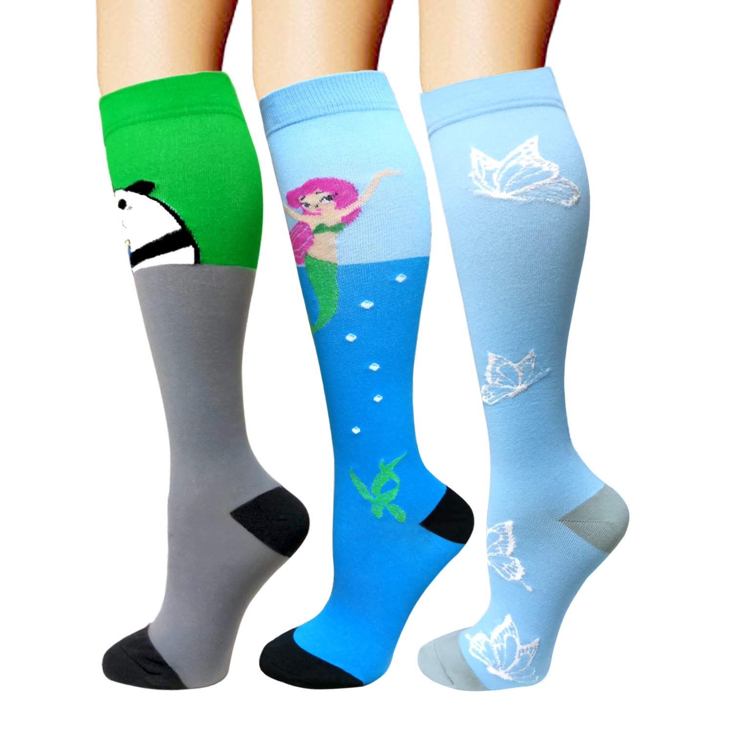 0627f79dbbd Compression Socks For Men   Women - 3 6 Pairs - Best Sports Socks for  Running