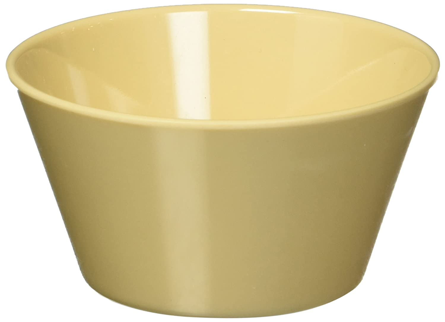 Winco MMB-8 Melamine Bouillon Cup, 8-Ounce, Tan Winco USA