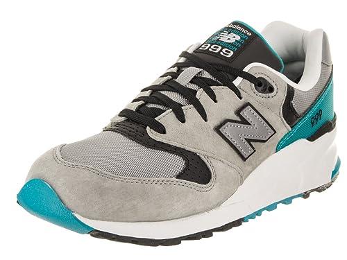 db35a2d2ce55b New Balance Men's 999 Elite Edition Classics Grey/Teal Running Shoe 7 Men  US: Amazon.co.uk: Shoes & Bags