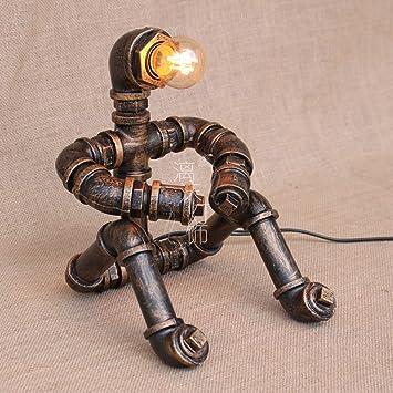 Amazon.com: Robot Sitting Posture - Lámpara de mesa de ...