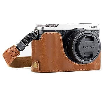 MegaGear MG974 Estuche para cámara fotográfica - Funda (Funda, Panasonic, Lumix DMC-GX85, Marrón)