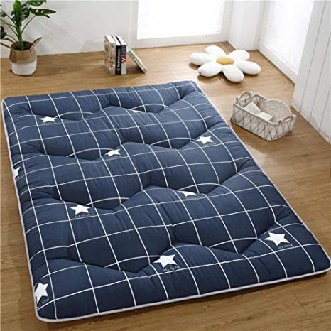 Amazon.com: Thicken Cotton Mattress Pad,Soft Tatami Floor ...