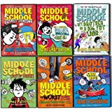 Patterson, James Middle School 6 Books Collection Pack Set (Save Rafe!:, Ultimate Showdown: (Middle School 5), The Worst Years of My Life, My Brother Is a Big, Fat Liar, Get Me Out of Here!, How I Survived Bullies, Broccoli, and Snake Hill)