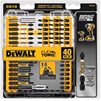 40-Piece Dewalt DWA2T40IR FlexTorq Impact Ready Screw Driving Set