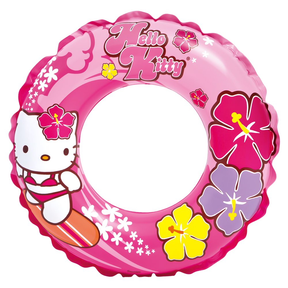 Amazon.com: Intex Inflatable Float Wheel, Design Hello Kitty, 61 cm (56210np): Toys & Games