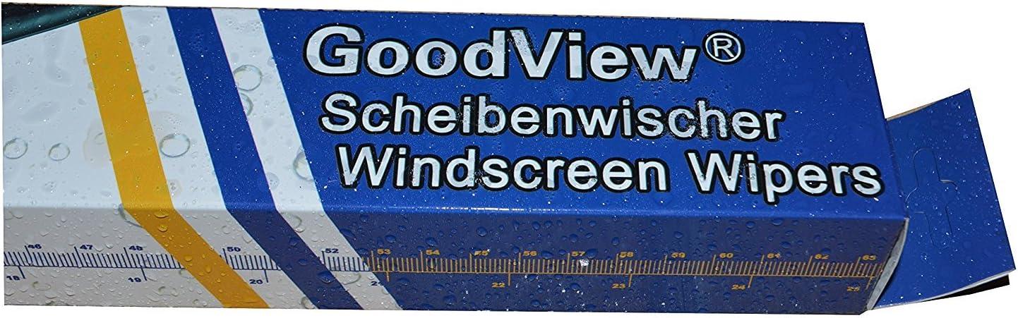 GoodView Front Scheibenwischer Passend f/ür S-Klasse 1998-2005 L/ängen 650mm W220 650mm Bj