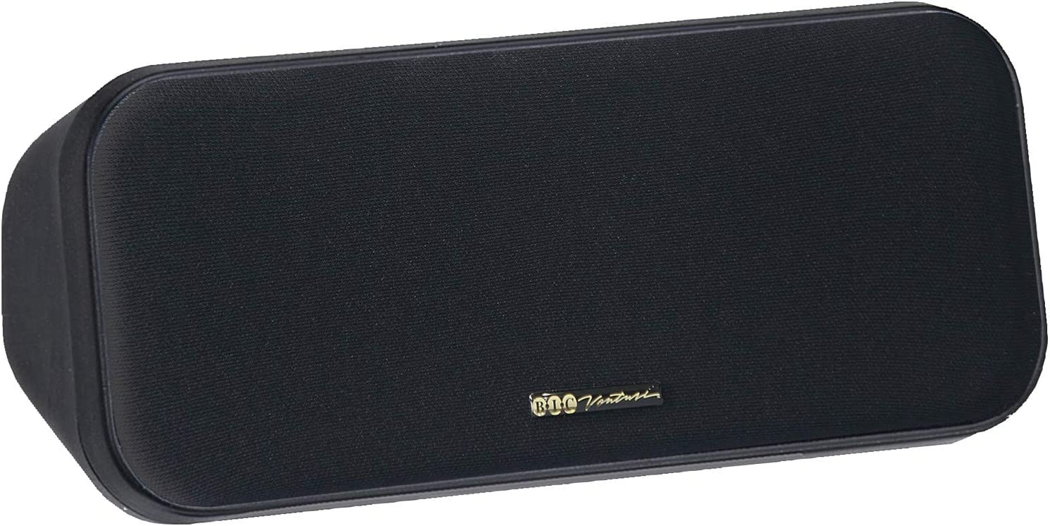 "Bic Venturi DV32CLR 3.5"" Center Channel Speaker, Black"