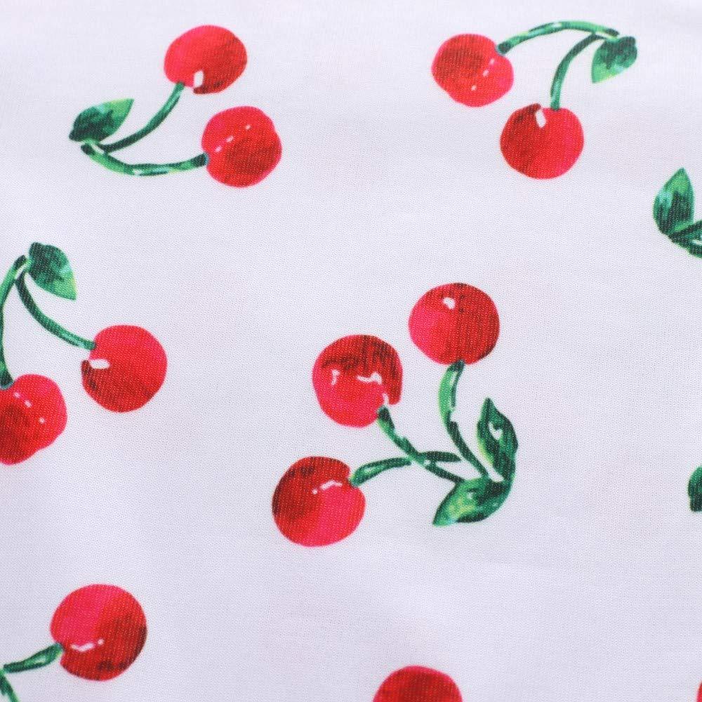 Woaills-Tops 2018 New!!Children Kids Clothes,Girls Long Sleeved Cartoon Animal Fruits Print Dress