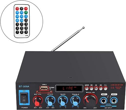 Prozor 800w Hifi Digital Stereo Audio Amplifier 12v Elektronik