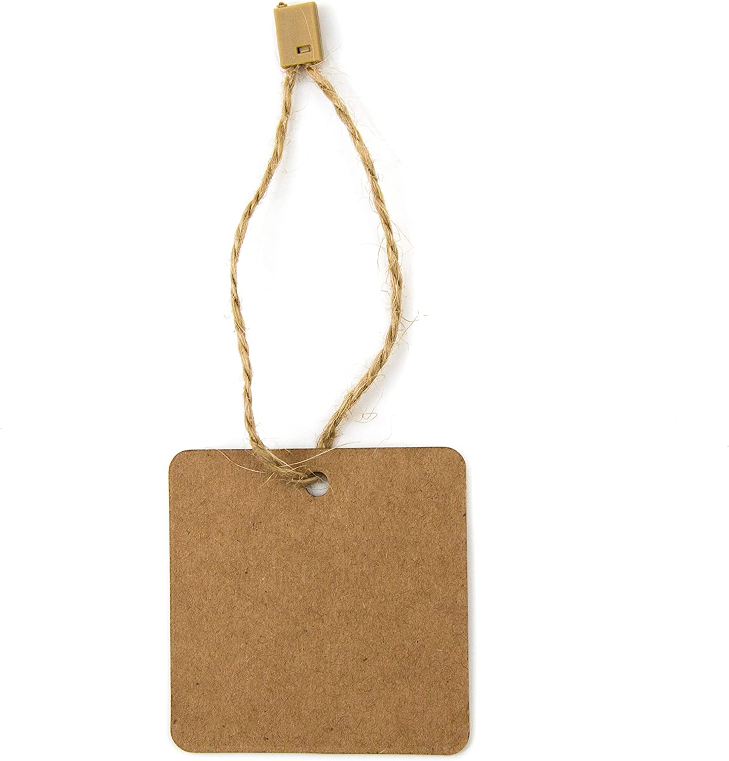 Pack of 1000-4 Gold Nylon Strings w//Gold Safety Pin and Barb for Easy Attachment Elegant Hang Tag Fasteners
