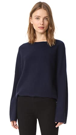 Amazon.com: Vince Women's Boxy Cashmere Sweater: Clothing